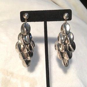 🌺Vintage Sterling Silver Chandler Earrings